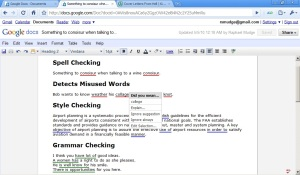 Google Docs Grammar Checker for Google Chrome